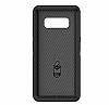 OtterBox Defender Samsung Galaxy Note 8 Siyah Kılıf - Resim 3