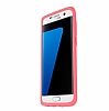 Otterbox Symmetry Clear Samsung Galaxy S7 Edge Pink Crystal Kılıf - Resim 2