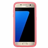 Otterbox Symmetry Clear Samsung Galaxy S7 Pink Crystal Kılıf - Resim 4
