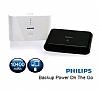 Philips 10400 mAh Powerbank Beyaz Yedek Batarya - Resim 1