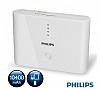 Philips 10400 mAh Powerbank Beyaz Yedek Batarya - Resim 2