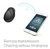 Piblue Universal Mini Siyah Bluetooth Kulaklık - Resim 2