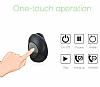 Piblue Universal Mini Siyah Bluetooth Kulaklık - Resim 4
