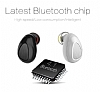 Piblue Universal Mini Siyah Bluetooth Kulaklık - Resim 1