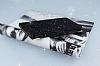 PinShang Samsung Galaxy C9 Pro Taşlı Kapaklı Cüzdan Siyah Kılıf - Resim 3