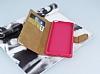 PinShang Sony Xperia XA Ultra Taşlı Kapaklı Cüzdan Pembe Kılıf - Resim 3