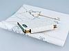 PinShang Sony Xperia Z3 Compact Taşlı Kapaklı Cüzdan Beyaz Kılıf - Resim 3