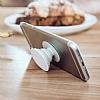Popsockets Granit Görünümlü Beyaz Telefon Tutucu ve Stand - Resim 2