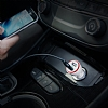 PowerDrive Çift Girişli Beyaz Araç Şarj Aleti - Resim 7