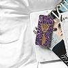 iPhone 6 Purple Leopard Taşlı Kılıf - Resim 2