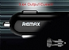 Remax Dijital Göstergeli Yüksek Kapasiteli Siyah Araç Şarj Aleti - Resim 5