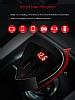 Remax Dijital Göstergeli Yüksek Kapasiteli Siyah Araç Şarj Aleti - Resim 3