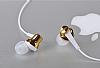 Remax RM-575 Mikrofonlu Kulakiçi Gold Kulaklık - Resim 6