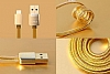 Remax Safe & Speed Lightning USB Gold Data Kablosu 1m - Resim: 4