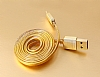 Remax Safe & Speed Lightning USB Gold Data Kablosu 1m - Resim: 2