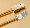 Remax Safe & Speed Lightning USB Gold Data Kablosu 1m - Resim: 6