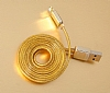 Remax Safe & Speed Lightning USB Gold Data Kablosu 1m - Resim: 7