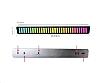 RGB 2.0 Standlı Led Işık 181 cm