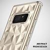 Ringke Air Prism 3D Samsung Galaxy Note 8 Elmas Yansıması Crystal Clear Kılıf - Resim 1