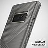 Ringke Bevel Samsung Galaxy Note 8 Ultra Koruma Smoke Black Kılıf - Resim 1
