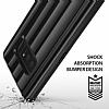 Ringke Flex S Pro Samsung Galaxy Note 8 Ultra Koruma Siyah Kılıf - Resim 3