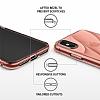 Ringke Flow iPhone X / XS Ultra Koruma Rose Gold Kılıf - Resim 2