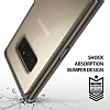 Ringke Fusion Samsung Galaxy Note 8 Ultra Koruma Smoke Black Kılıf - Resim 3
