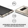 Ringke Fusion Samsung Galaxy Note 8 Ultra Koruma Crystal Clear Kılıf - Resim 2