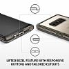 Ringke Fusion Samsung Galaxy Note 8 Ultra Koruma Smoke Black Kılıf - Resim 2