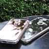 Ringke Fusion Mirror iPhone 7 / 8 Ultra Koruma Silver Kılıf - Resim 2