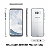 Ringke Fusion Samsung Galaxy S8 Plus Ultra Koruma Şeffaf Siyah Kılıf - Resim 5