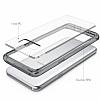 Ringke Fusion Samsung Galaxy S8 Plus Ultra Koruma Şeffaf Siyah Kılıf - Resim 3