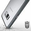 Ringke Fusion Samsung Galaxy S8 Plus Ultra Koruma Şeffaf Siyah Kılıf - Resim 4