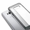 Ringke Fusion Samsung Galaxy S8 Plus Ultra Koruma Şeffaf Siyah Kılıf - Resim 2