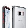 Ringke Fusion Samsung Galaxy S8 Plus Ultra Koruma Şeffaf Siyah Kılıf - Resim 1