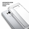 Ringke Fusion Samsung Galaxy S8 Ultra Koruma Şeffaf Kılıf - Resim 3