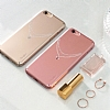 Ringke Noble Slim iPhone 6 / 6S Ta�l� Rose Gold Rubber K�l�f - Resim: 3