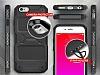 Ringke Rebel iPhone 6 / 6S Ultra Koruma Silikon Siyah Kılıf - Resim 3