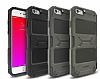 Ringke Rebel iPhone 6 / 6S Ultra Koruma Silikon Siyah Kılıf - Resim 2