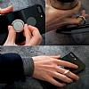 Ringke Ring Universal Silver Telefon Yüzüğü+Stand+Araç Tutacağı - Resim 6