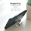 Ringke Ring Universal Silver Telefon Yüzüğü+Stand+Araç Tutacağı - Resim 2