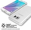 Ringke Slim Frost Samsung Galaxy Note 5 360 Kenar Koruma Pembe Rubber Kılıf - Resim 2