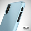 Ringke Slim iPhone X Tam Kenar Koruma Sky Blue Rubber Kılıf - Resim 1
