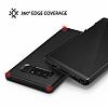 Ringke Slim Samsung Galaxy Note 8 Tam Kenar Koruma Siyah Rubber Kılıf - Resim 3