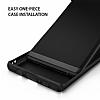 Ringke Slim Samsung Galaxy Note 8 Tam Kenar Koruma Siyah Rubber Kılıf - Resim 1