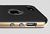 Rock Royce iPhone SE / 5 / 5S Gold Metalik Kenarl� Silikon K�l�f - Resim: 1