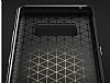 Rock Royce Samsung Galaxy Note 8 Dark Silver Metalik Kenarlı Siyah Silikon Kılıf - Resim 6