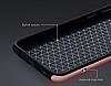 Rock Royce Samsung Galaxy S8 Dark Silver Metalik Kenarlı Siyah Silikon Kılıf - Resim 7