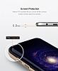 Rock Royce Samsung Galaxy S8 Dark Silver Metalik Kenarlı Siyah Silikon Kılıf - Resim 10