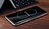 Rock Royce Samsung Galaxy S8 Dark Silver Metalik Kenarlı Siyah Silikon Kılıf - Resim 5